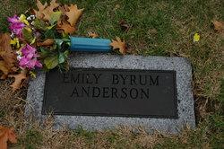 Emily <i>Byrum</i> Anderson