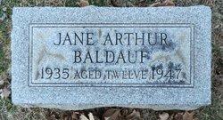 Jane Arthur Baldauf