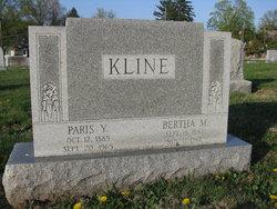 Bertha M. <i>Winters</i> Kline