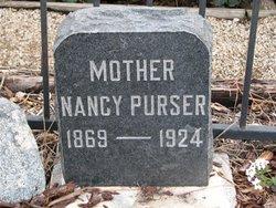 Nancy Ruth <i>Frazier</i> Purser