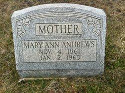 Mary Ann <i>Ritter</i> Andrews