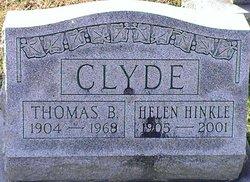 Helen <i>Hinkle</i> Clyde