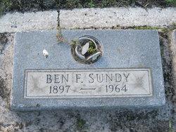 Benjamin Franklin Sundy