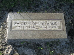 Elizabeth Kathryn Kathryn <i>Sundy</i> Adkins