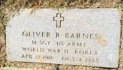 Oliver R. Barnes