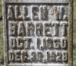 Allen W Barrett