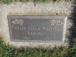 Retta Zella <i>Walling</i> Babcock