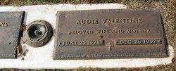 Audie Burl <i>Sturgill</i> Valentine