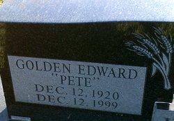 Golden Edward Pete Warner