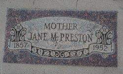 Jane Miram <i>Swartz</i> Preston