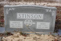 Annie Marie <i>Wood</i> Stinson