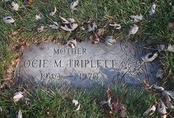Ocie M Triplett