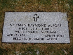Sgt Norman Raymond Alfors, Sr