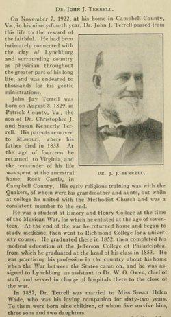 Dr John Jay Terrell