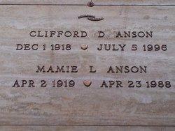 Mamie L <i>Blaylock</i> Anson