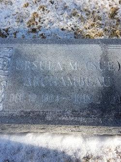 Ursula M Sue Archambeau