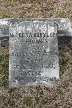 Edna <i>Broyles</i> Brown