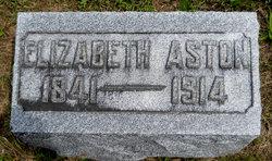 Elizabeth <i>Shoup</i> Aston