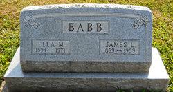 Ella M. <i>Styer</i> Babb