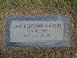 Janet <i>Martin</i> Bentson