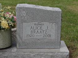 Alice J <i>Bazile</i> Braatz