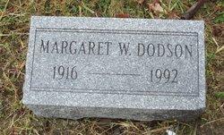 Margaret W. Dodson