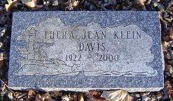 Thera Jean <i>Lee</i> Davis