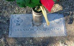 Shannon Ann Adams