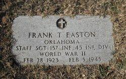 Sgt Frank T. Easton