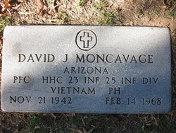PFC David John Moncavage