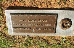 Ann Laurie <i>Moss</i> Clary