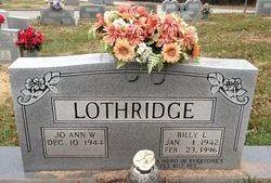 William Lamar Billy Lothridge