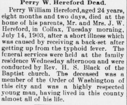 Perry W. Hereford