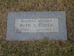 Ruth A Cohen