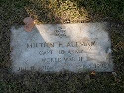 Milton H Altman