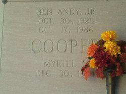Ben Andy Cooper, Jr