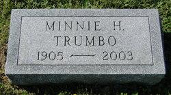 Minnie Agnes <i>Halterman</i> Trumbo
