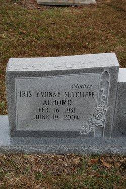 Iris Yvonne <i>Sutcliffe</i> Achord
