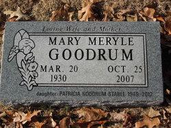 Patricia Ann Pat <i>Goodrum</i> Stahle