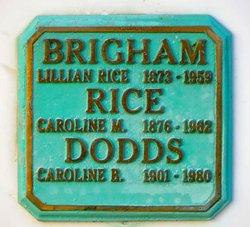Lillian <i>Rice</i> Brigham