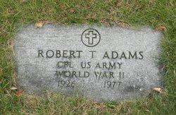 Robert T Adams