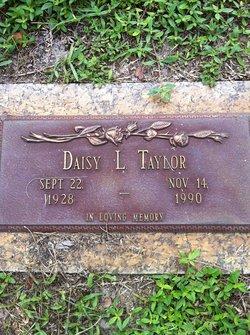 Daisy L <i>Faison</i> Taylor