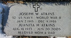 Juanita Helen <i>Collins</i> Atkins
