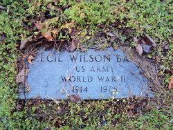 Cecil Wilson Bailey