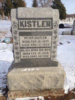 Wilhemina Helena Minnie <i>Brandlein</i> Kistler