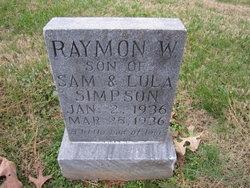 Raymond William Simpson
