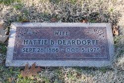 Hattie Bessie Deardorff