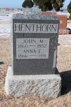 John Milton Henthorn
