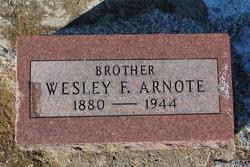Wesley F Arnote