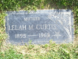 Lelah May <i>Daugherty</i> Curtis